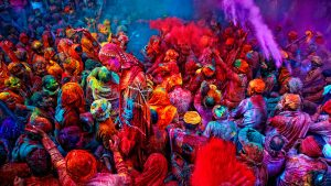 Holi is an ancient hindu religious festival crazily celebrated throughout the India.