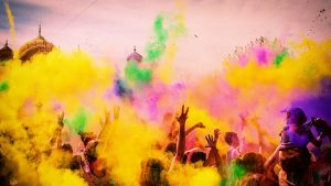 Holi is one of the most widely celebrated festival In India.